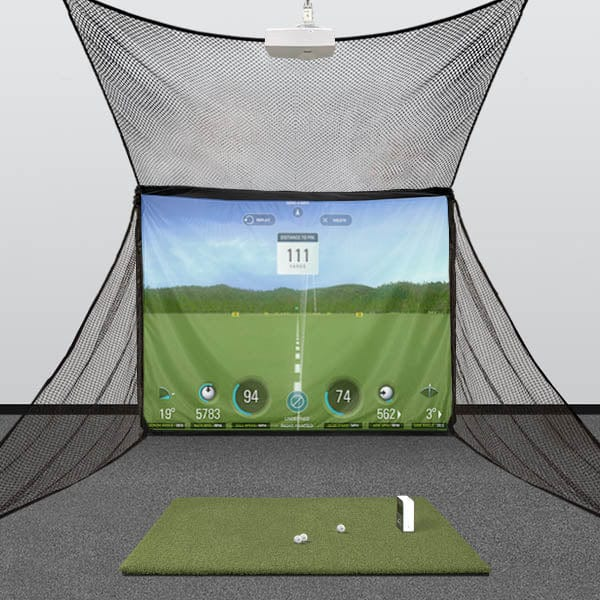 SkyTrak HomeBay Golf Simulator Package