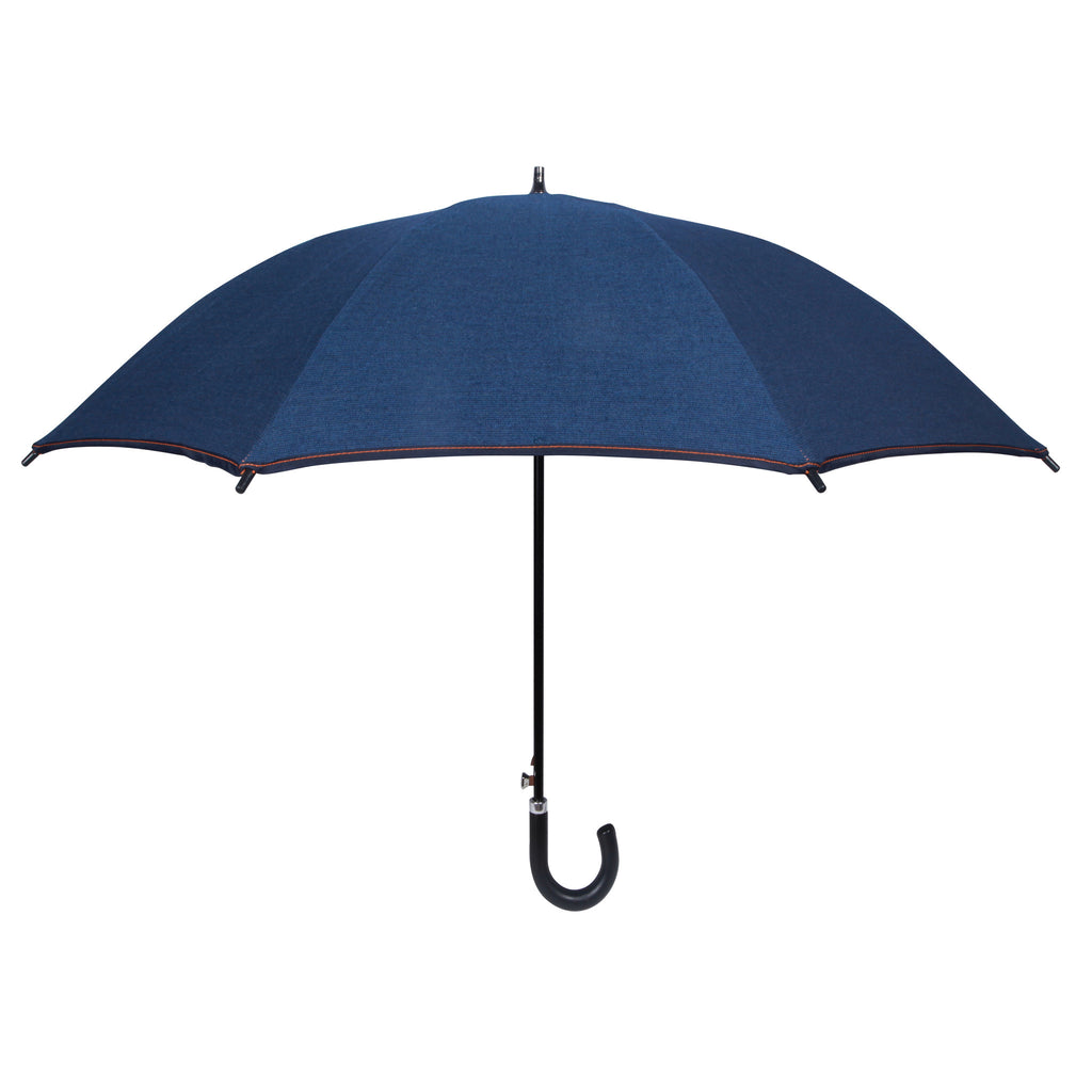 Blue Jean Sun and Rain Personal Umbrella featuring Sunbrella™ Fabric - sfumbrella.ca