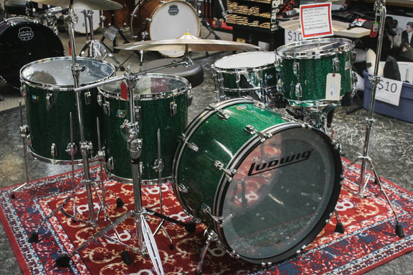 Ludwig 45th Anniversary Vistalite 4 Piece Shell Pack PREORDER