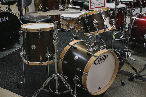 PDP Concept Series Maple Bop 3 Piece Wood Hoop Drum Set