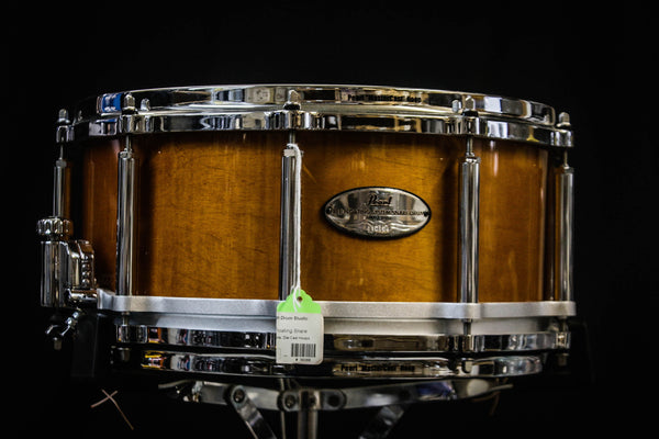 Pearl 6.5x14 6 Ply Maple Free-Floating Snare