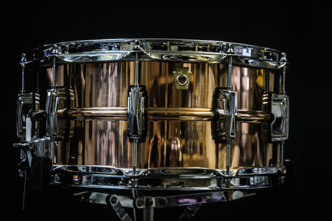 Ludwig 6.5x14 Copperphonic Snare Drum