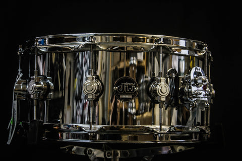 DW Performance Series 6.5x14 Chrome Over Steel Snare Drum