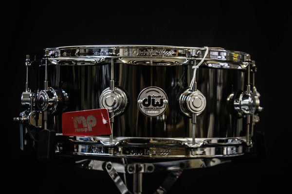 DW 5x14 Black Nickel Over Brass Snare Drum