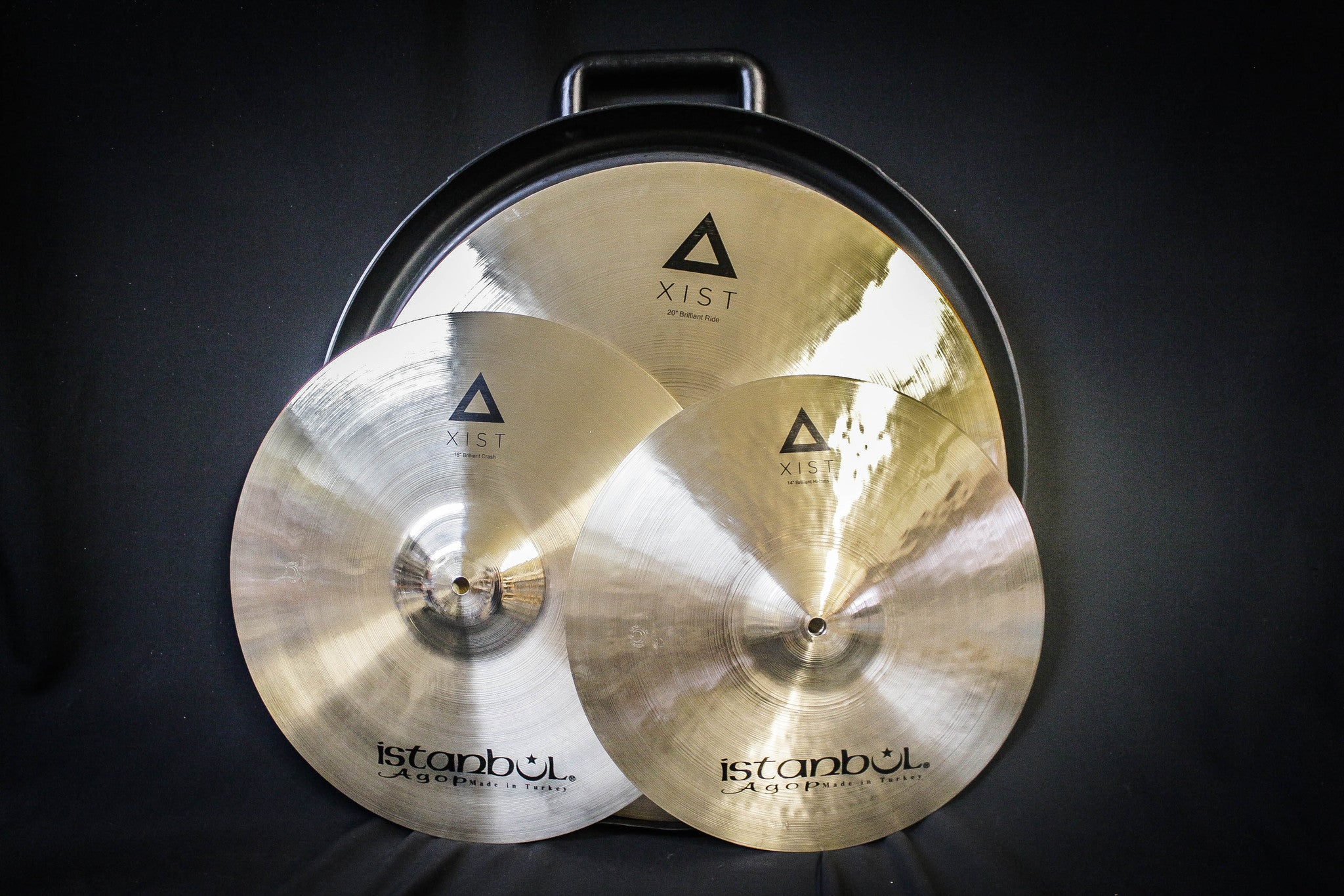 Istanbul Agop Xist Cymbal Pack (Brilliant)