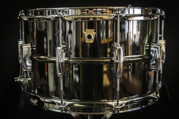 Ludwig 8x14 Supraphonic Black Beauty Snare Drum