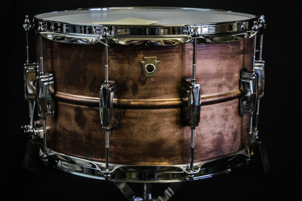Ludwig 8x14 Copperphonic Snare Drum