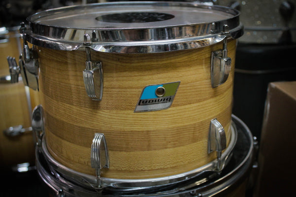 70s Ludwig 8x12 Butcher Block Tom