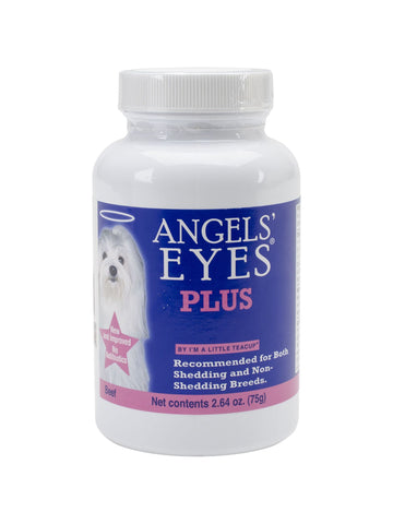 Angels Eyes Plus, Beef Flavor 75g For Dog, 3 oz