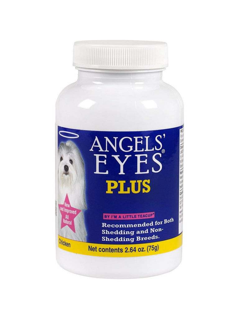 Angels Eyes Plus, Chicken Flavor 75g For Dog, 3 oz