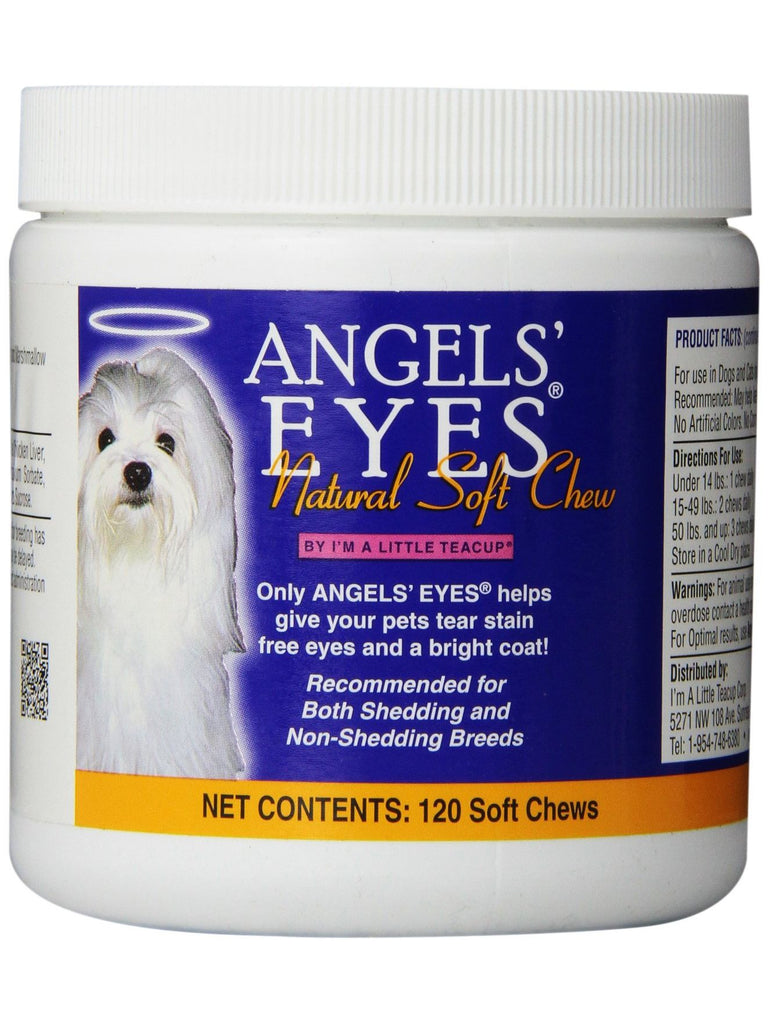 Angels Eyes, Natural Soft Chews  Chicken Flavor For Dogs, 120 chews