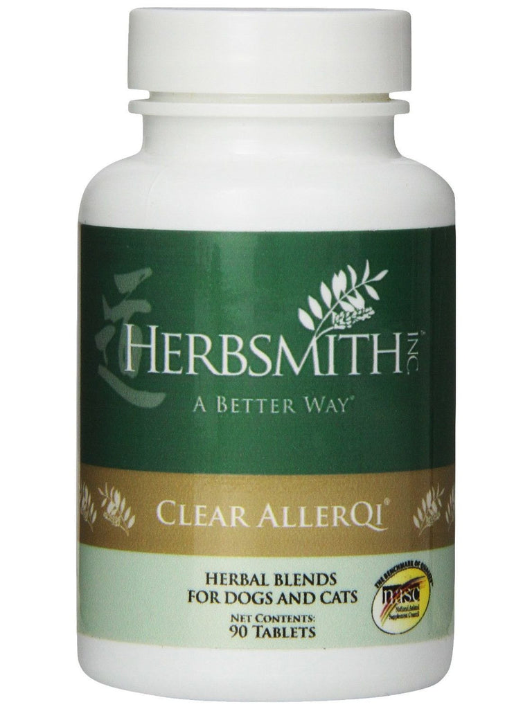 Herbsmith, Clear AllerQi for Dogs and Cats, 90 tabs