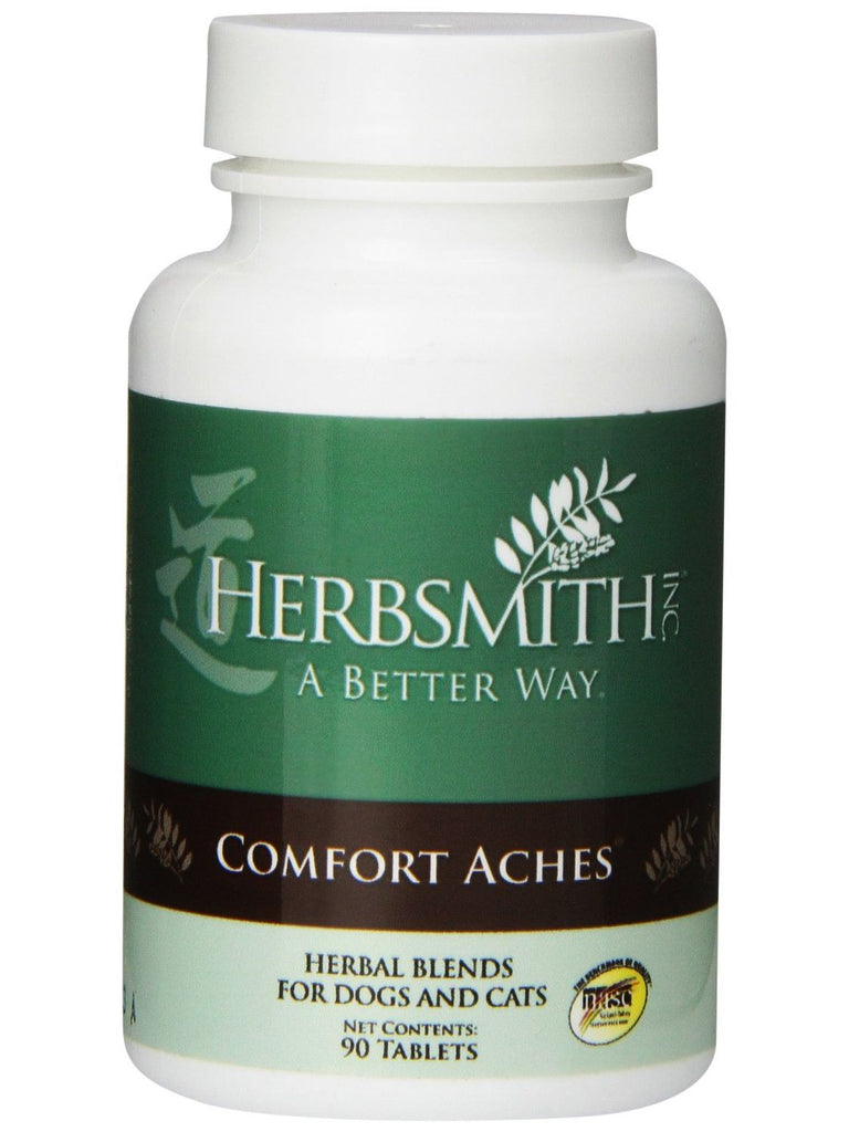 Herbsmith, Comfort Aches for Dogs and Cats, 90 tabs