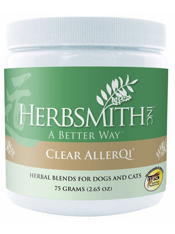 Herbsmith, Clear AllerQi Powder for Dogs and Cats, 75 grams