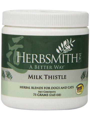 Herbsmith, Milk Thistle Powder for Dogs and Cats, 75 grams