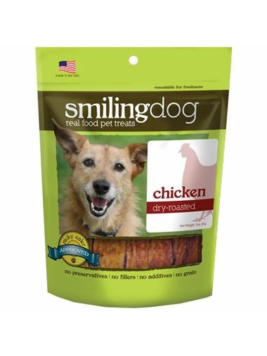 Herbsmith, Smiling Dog Treats Dry Roasted Chicken, 3 oz
