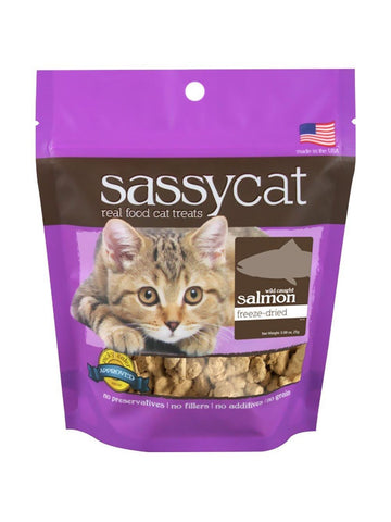 Herbsmith, Sassy Cat Treats Freeze Dried Salmon, 1.25 oz