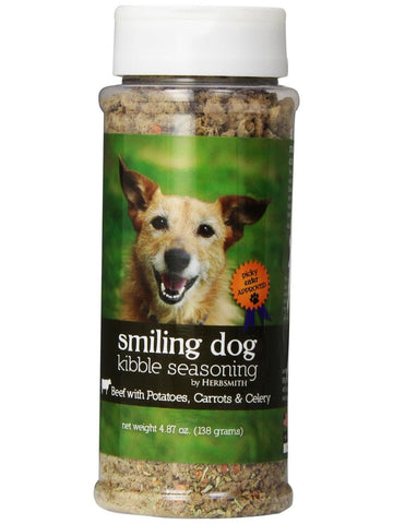 Herbsmith, Smiling Dog Kibble Seasoning Beef, 4.87 oz