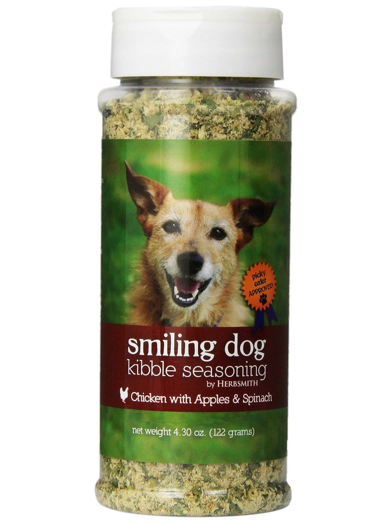 Herbsmith, Smiling Dog Kibble Seasoning Chicken, 4.3 oz