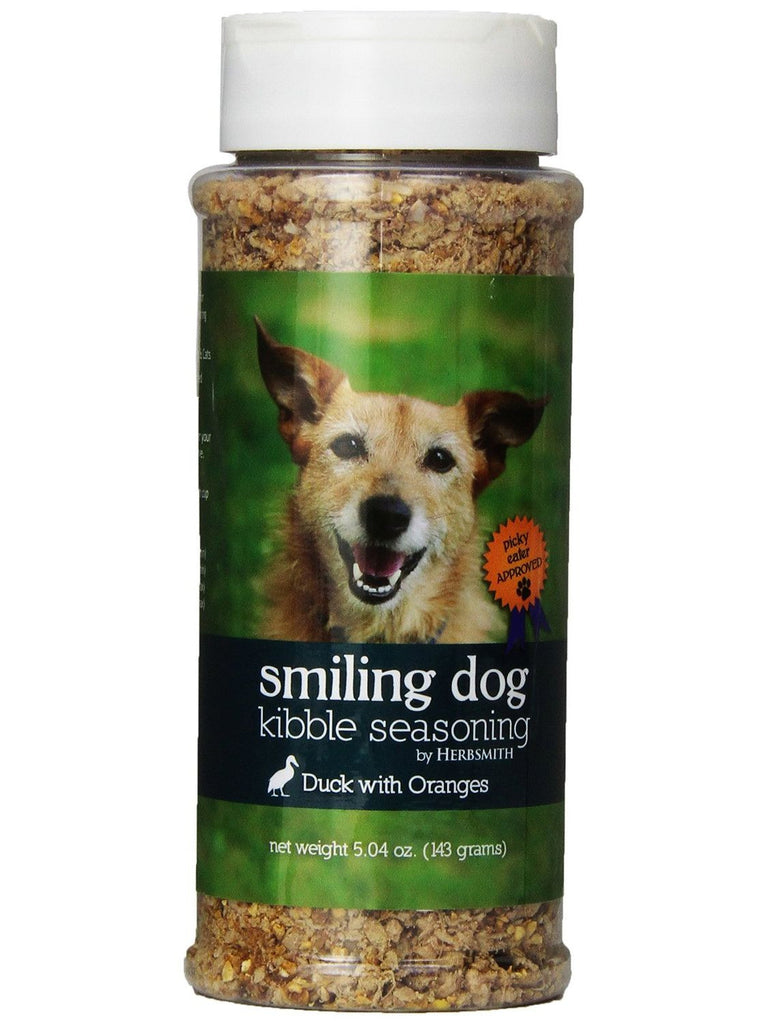 Herbsmith, Smiling Dog Kibble Seasoning Duck, 5.04 oz
