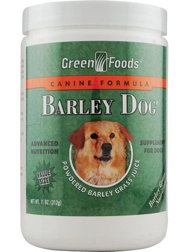 Green Foods, Barley Dog, 11 oz