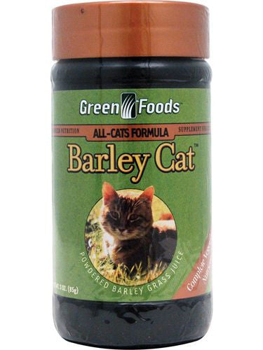 Green Foods, Barley Cat, 3 oz