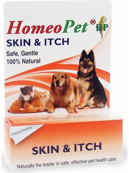 HomeoPet, Skin and Itch Relief, 15 ml