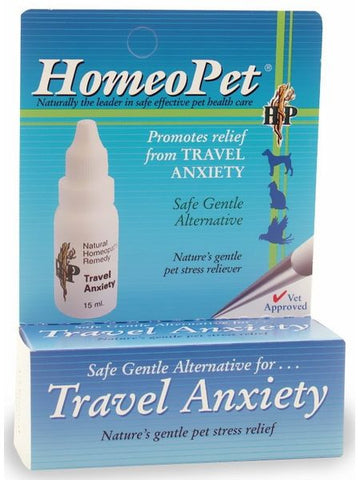 HomeoPet, Travel Anxiety, 15 ml