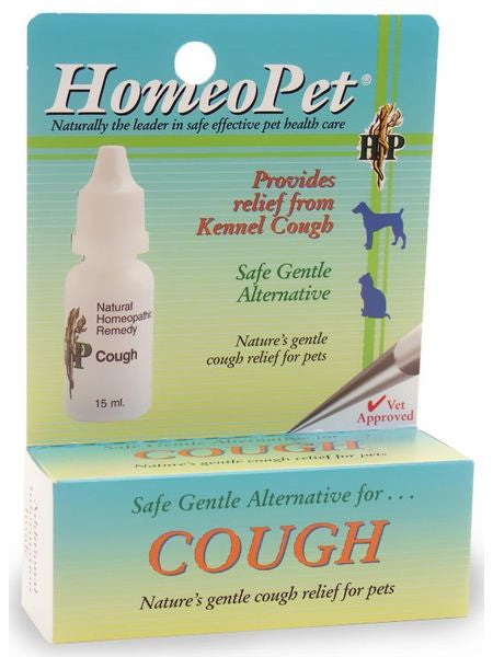 HomeoPet, Cough, 15 ml