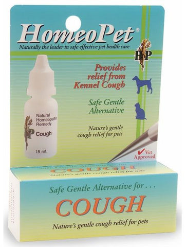 Cough, 15 ml, HomeoPet