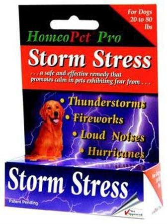 HomeoPet, Storm Stress for Medium Dogs, 15 ml