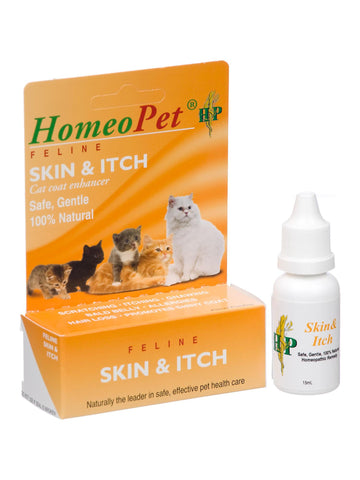 Feline Skin and Itch, 15 ml, HomeoPet