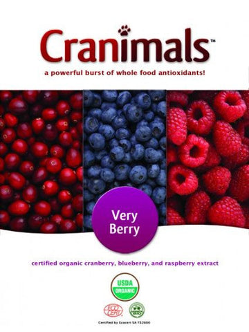 Cranimals, Cranimals Supplement Very Berry for Dogs and Cats, 4.2 oz