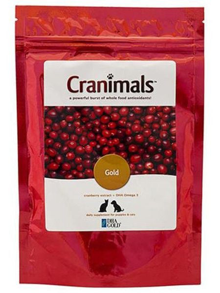 Cranimals, Cranimals Supplement Gold for Puppies and Cats, 4.2 oz