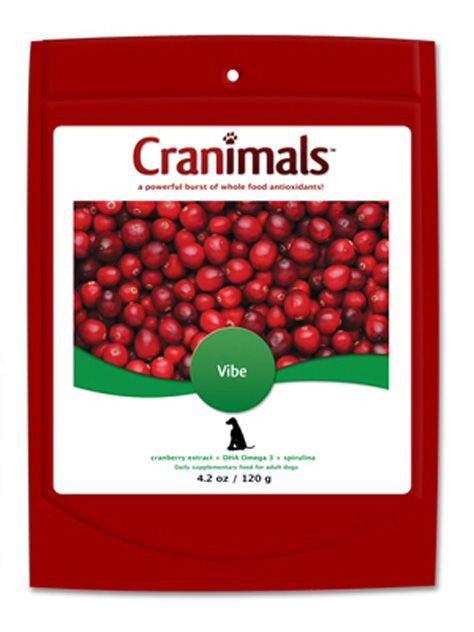 Cranimals, Cranimals Supplement Vibe for Dogs, 4.2 oz