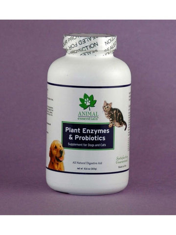 Animal Essentials, Plant Enzyme and Probiotics Powder for Dogs and Cats, 10.6 oz