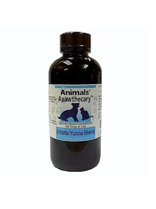 Animals Apawthecary, Alfalfa Yucca Blend Liquid for Dogs and Cats, 4 oz