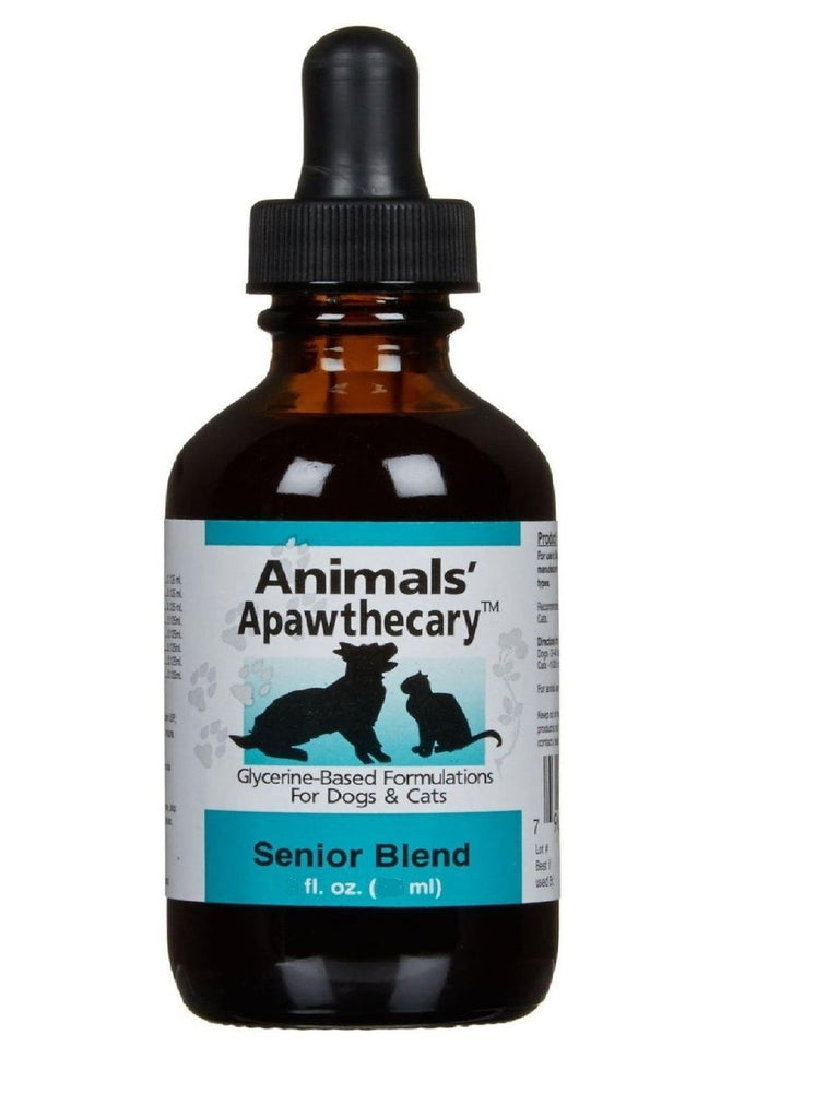 Animals Apawthecary, Senior Blend Liquid for Dogs and Cats, 4 oz