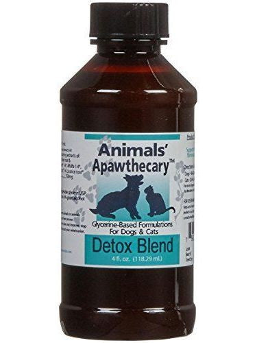 Animals Apawthecary, Detox Allergy Blend Liquid for Dogs and Cats, 4 oz