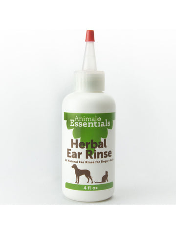 Animals Apawthecary, Herbal Ear Rinse Liquid for Dogs and Cats, 4 oz