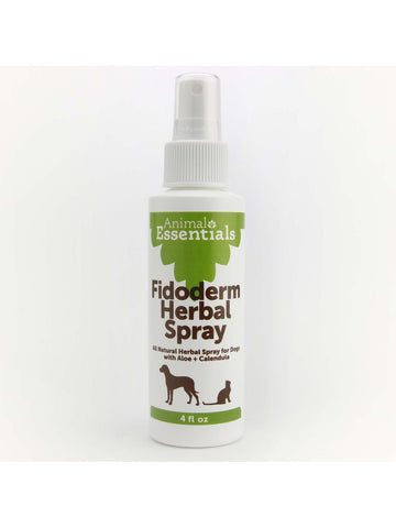 Animals Apawthecary, FidoDerm Herbal Skin Spray for Dogs and Cats, 4 oz