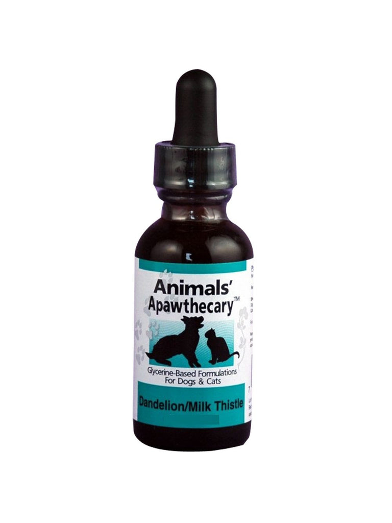 Animals Apawthecary, Dandelion Milk Thistle Liquid for Dogs and Cats, 2 oz