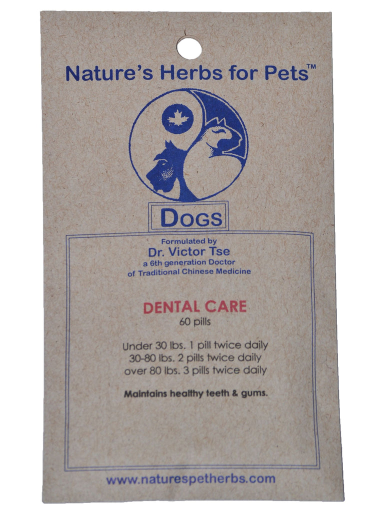 Natures Herbs for Pets, Dental Care for Dogs, 60 ct