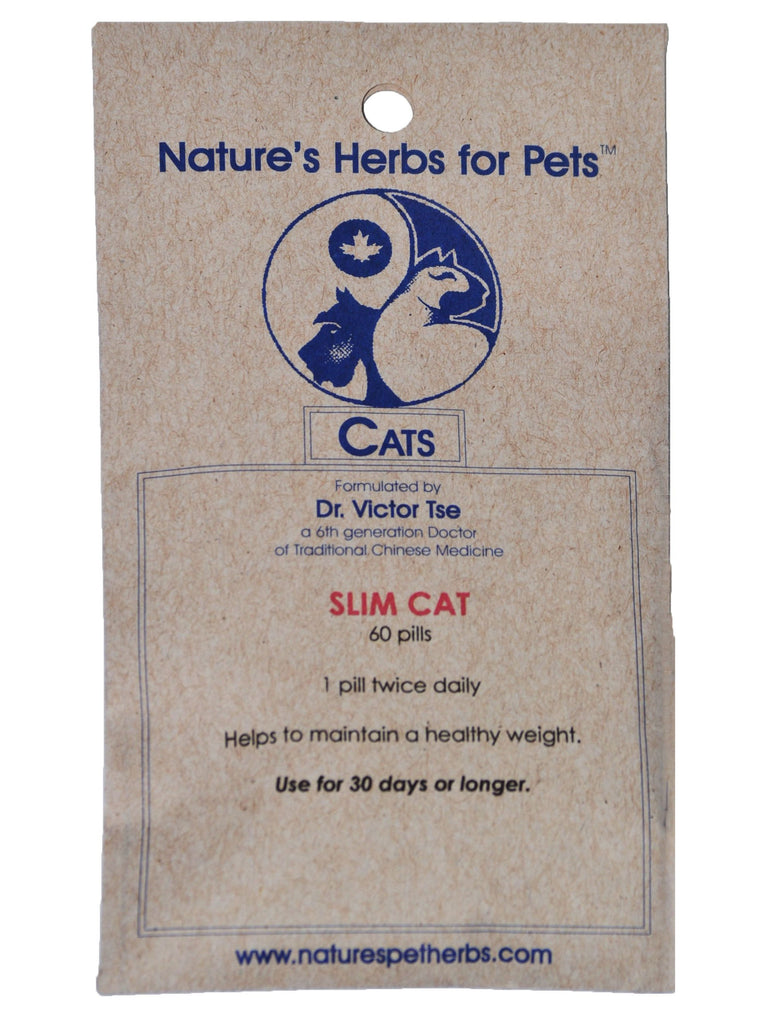 Natures Herbs for Pets, Slim Cat for Cats, 60 ct