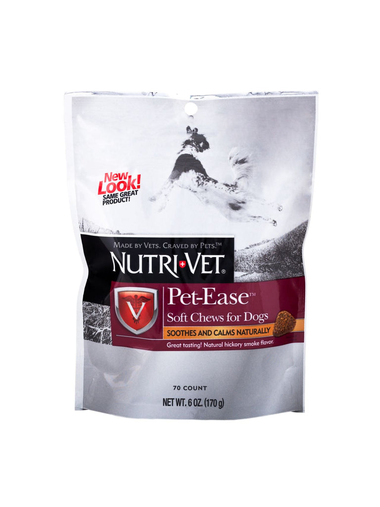 Nutri-Vet, Pet Ease Soft Chew for Dogs, 6 oz