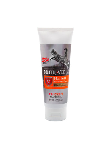 Nutri-Vet, Hairball Paw Gel for Cats, 3 oz