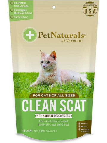 Pet Naturals of Vermont, Smelly Cat, 45 pc