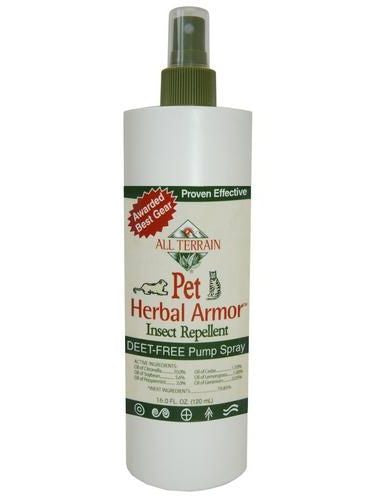 All Terrain, Pet Herbal Armor Insect Repellent, 16 oz