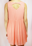 happy days dress-coral