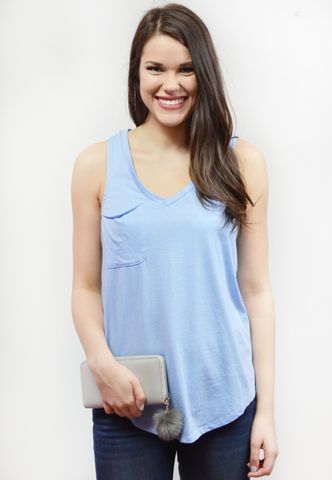everyday flare top-sage
